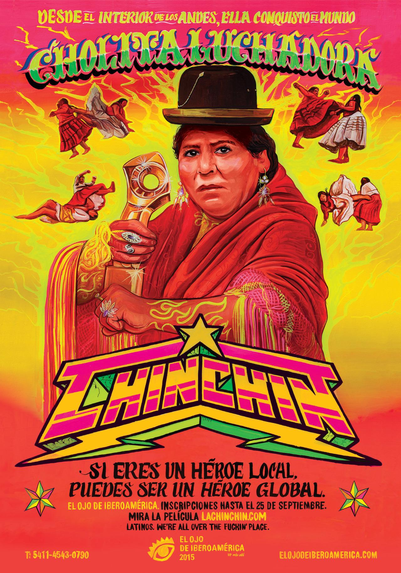 Chin CHin. La Cholita Luchadora